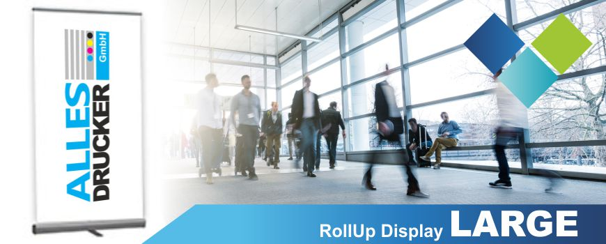 RollUp Display Large